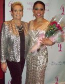 ROSLYN ROLAN PAGEANT COACH WITH CLIENT BROOKE HOWARD AT NY USA PAGEANT 1-19-14